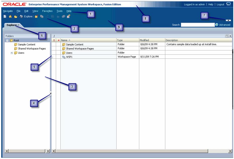 EPM_Workspace_user_interface