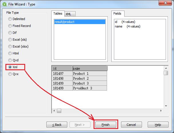 Загружаем данные в QlikView из JSON через XML