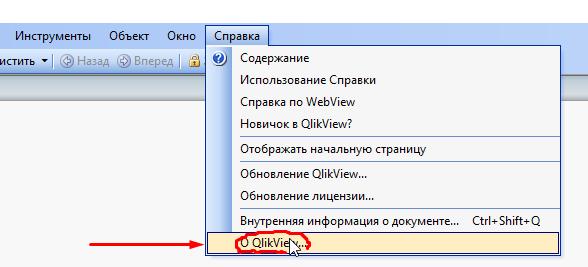 Пользовательские параметры клиентского приложения QlikView