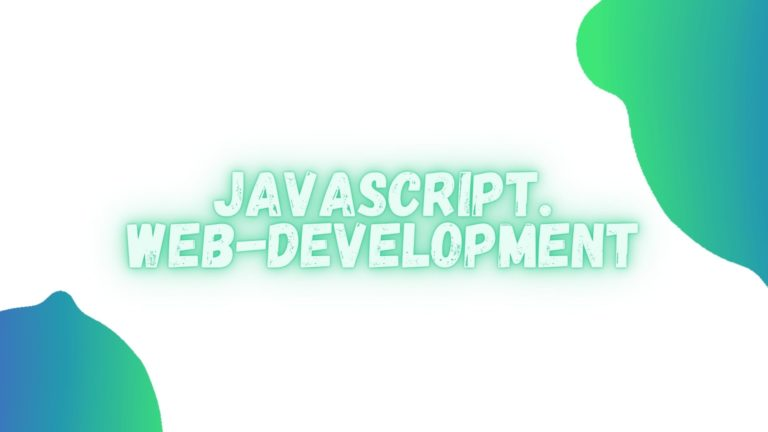 JavaScript: заметки для web-разработки